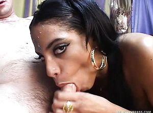 Slender Indian stunner with a sumptuous arse arches over and gets banged rear end fashion