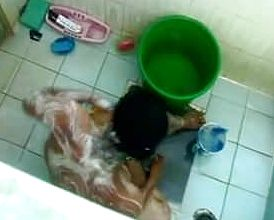 Tub time for indian aunty