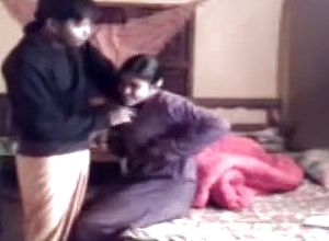 Desi Pair screw on hidden livecam