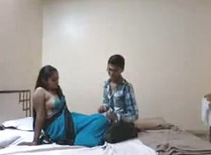 Indian Pair first Night after Marriage