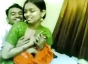 Attempting to seduce my lovable Indian gf for orgy on web camera