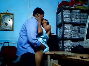 Marathi Office Partners Foreplay At Office